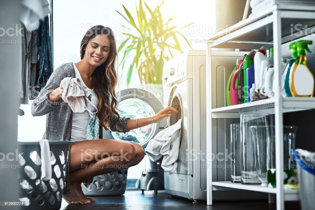Let's get to this laundry stock photo