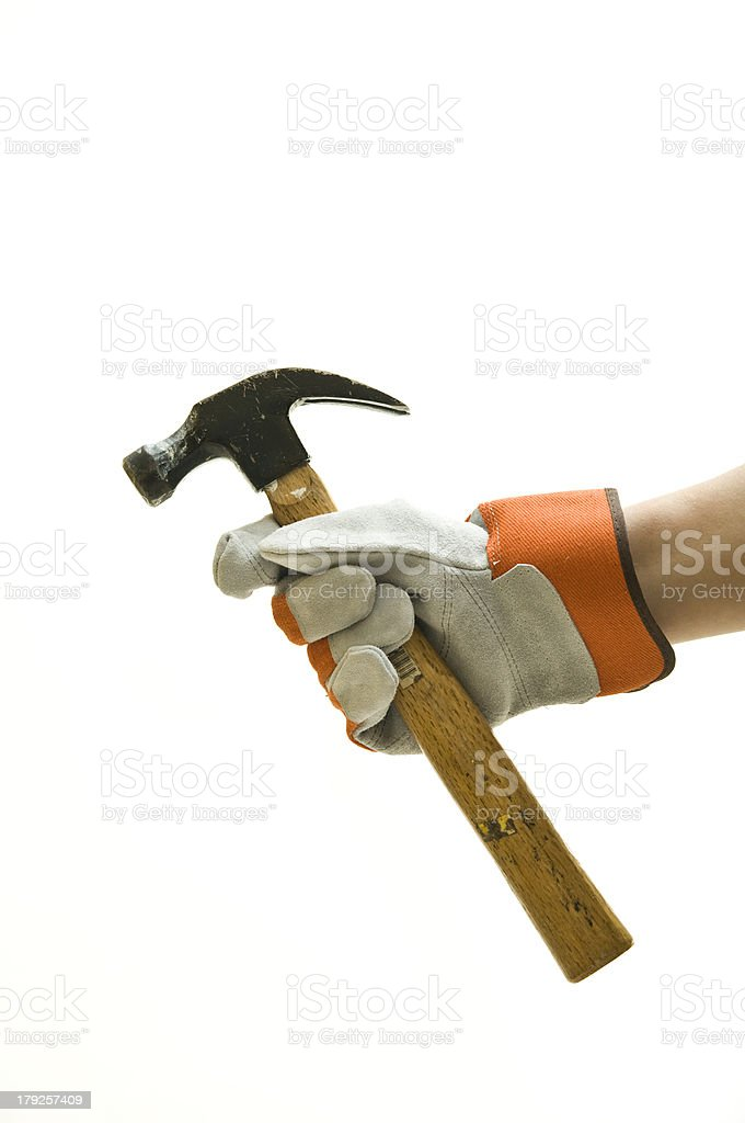 Lets get to work stock photo