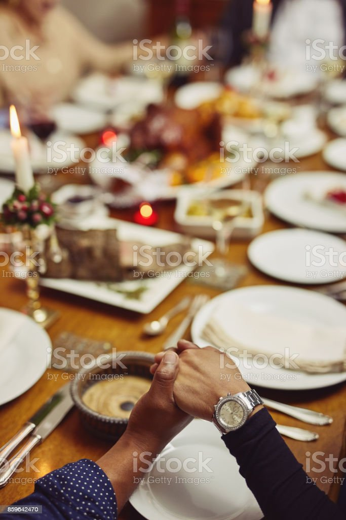 Let's give thanks first stock photo