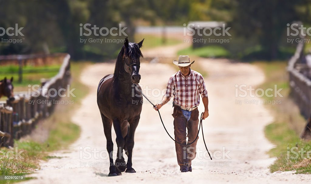Let's go for a talk stock photo