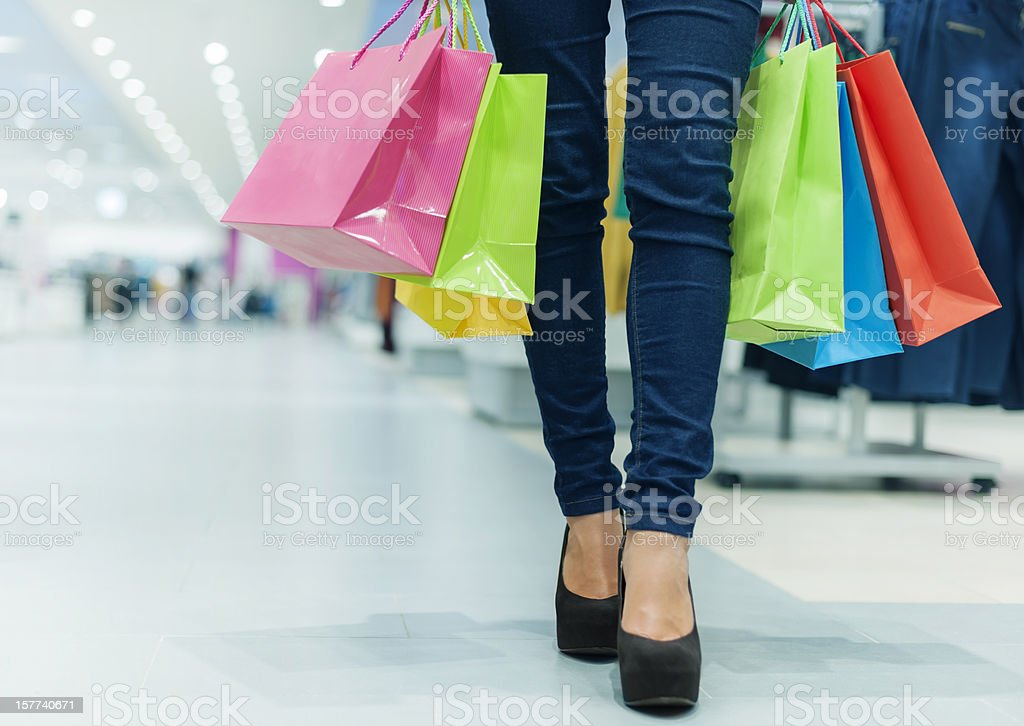 Let's go shopping! stock photo