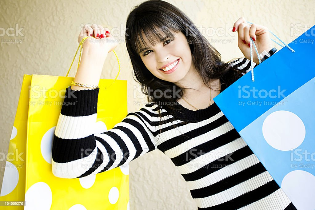 Let's go shopping royalty-free stock photo