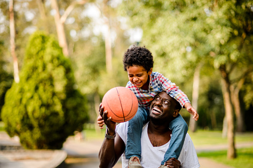 997711042 istock photo Let's go to play basketball. 904513388