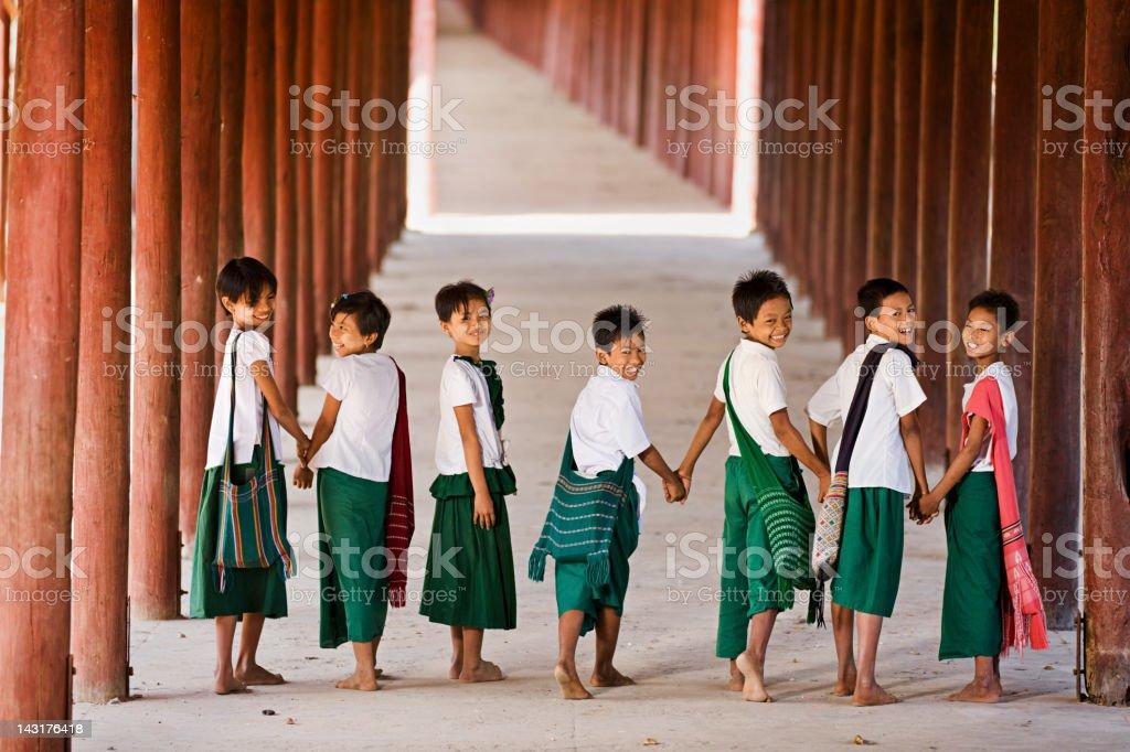 Let's Go to School! stock photo