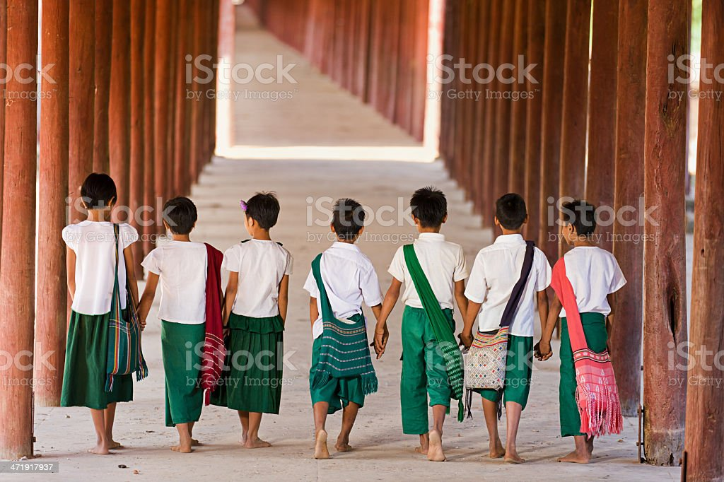 Let's Go to School! stock photo