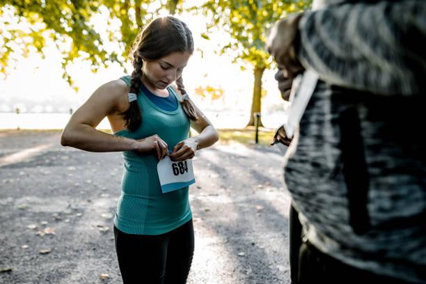 Lasst uns den marathon – Foto