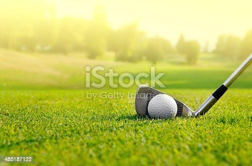 istock Let's golf 485187122
