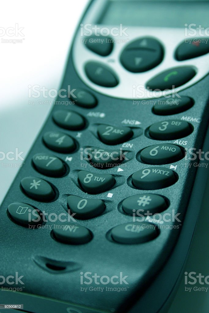 lets have a call II royalty-free stock photo
