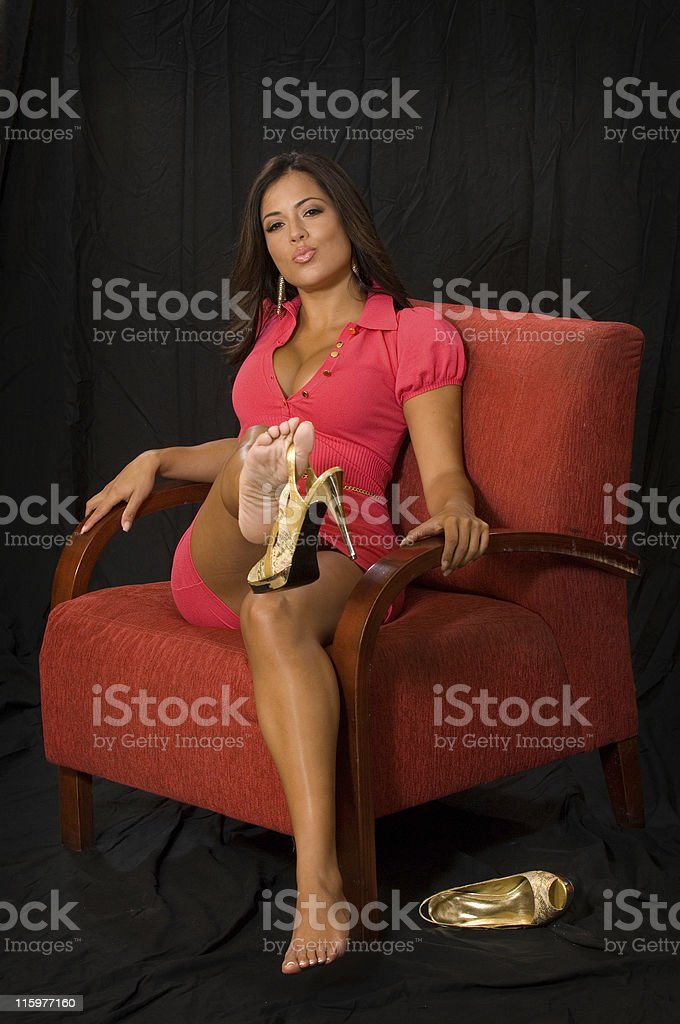 Lets have fun stock photo