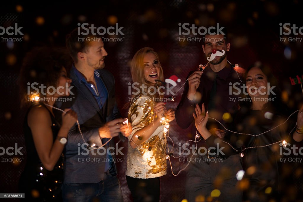 Let's have party! stock photo