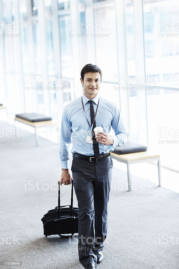 Let's hope this sales trip is a success royalty-free stock photo