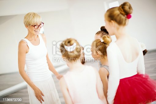 istock Let's learn some new moves. 1136973700