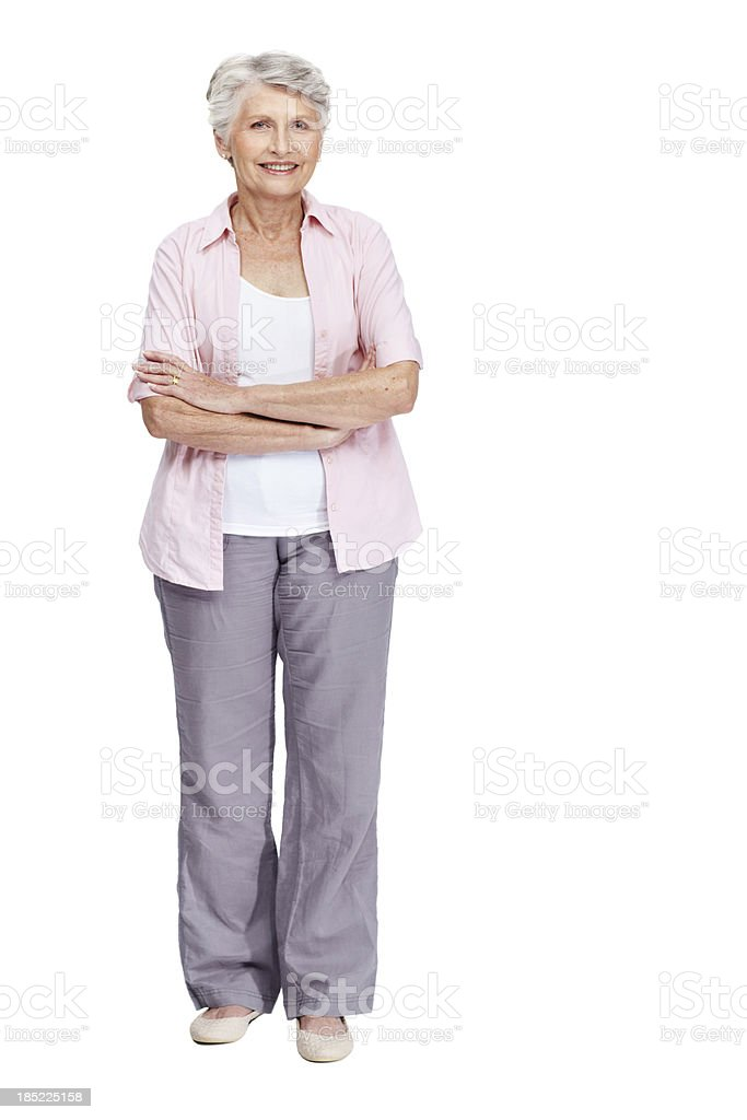 Let's make a stand for senior's rights together royalty-free stock photo