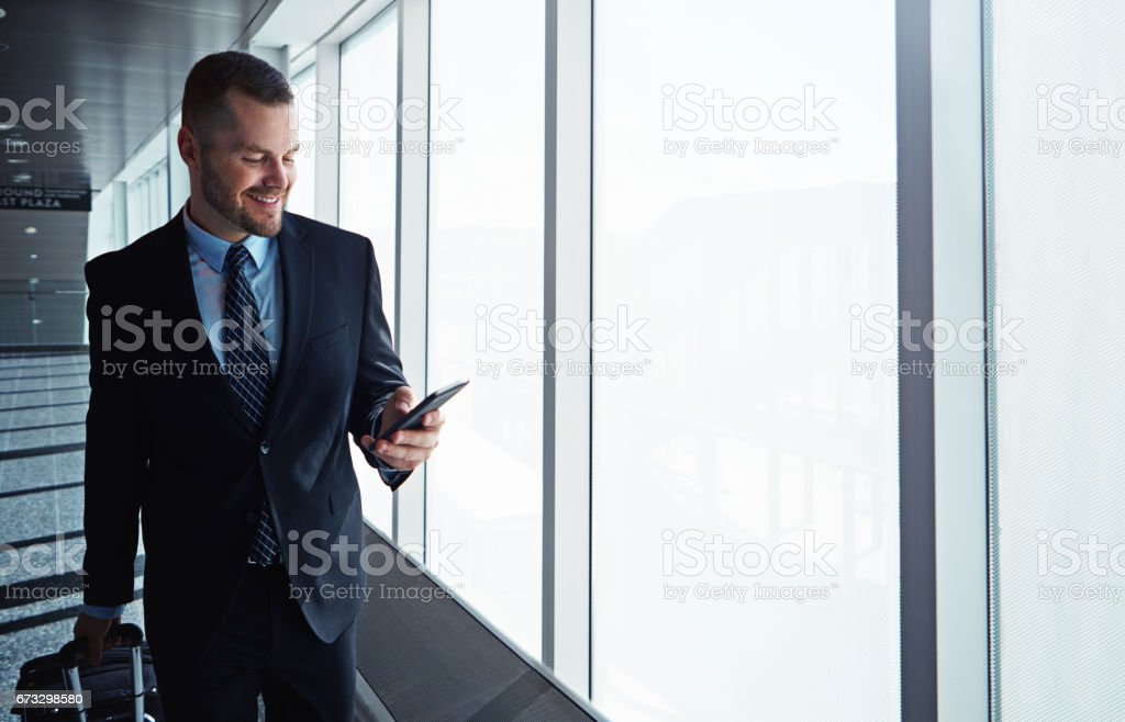 Let's meet in the business lounge royalty-free stock photo