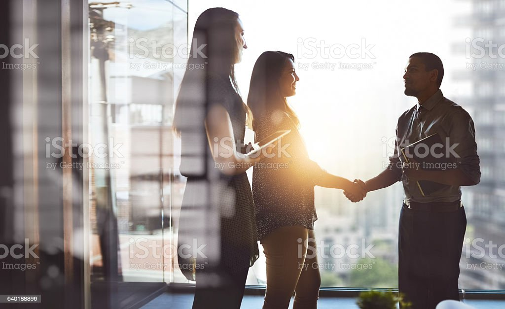 Let's move business forward together foto