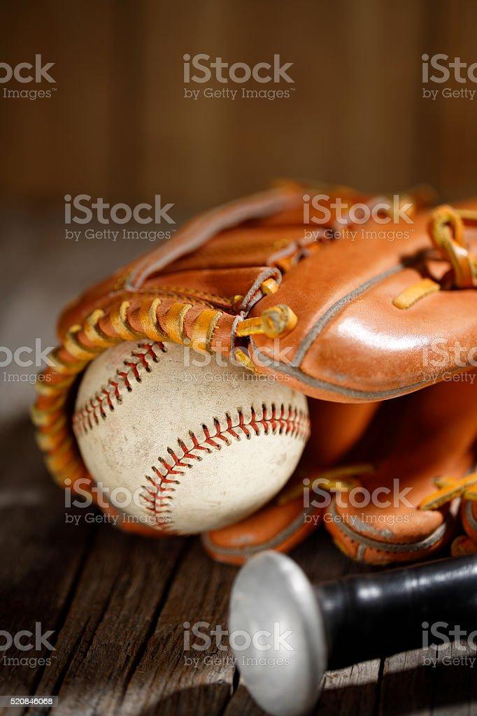Let's play baseball stock photo