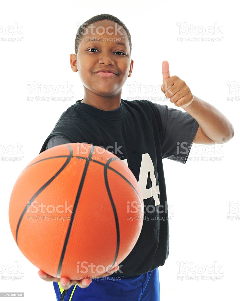 Let's Play Basketball! stock photo