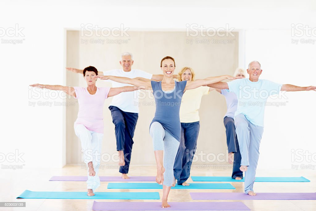 Let's see how balanced you are stock photo