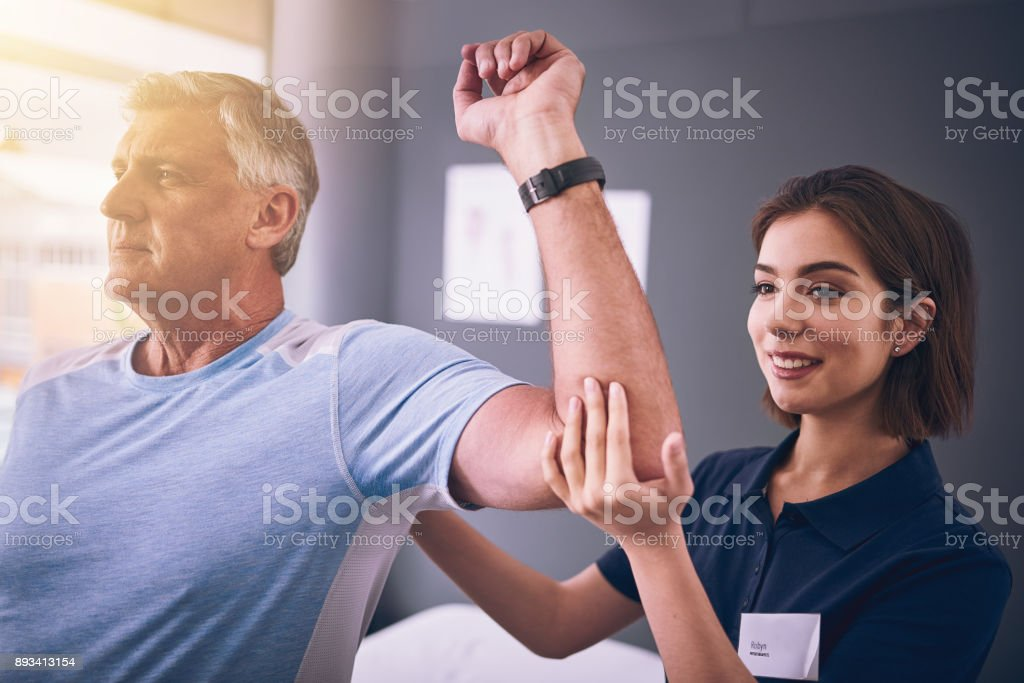 Let's see your range of movement stock photo