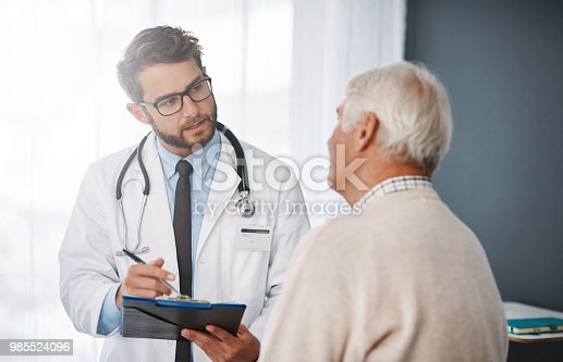 istock Let's set up an appointment for next week 985524096