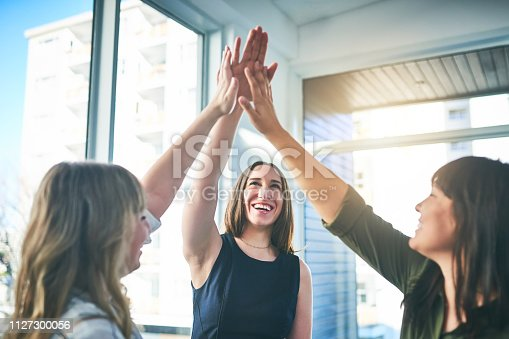 1031394114istockphoto Let's show the world what we as ladies can do! 1127300056