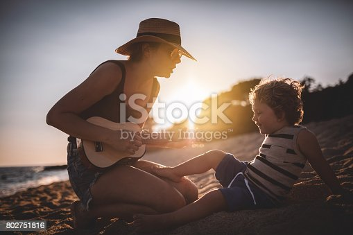 656711080 istock photo Lets sing together 802751816