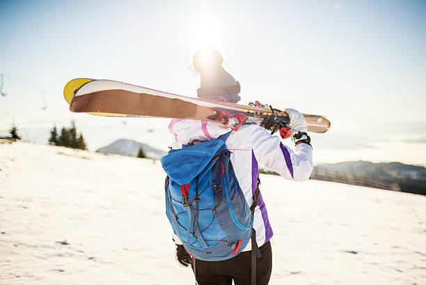 Lassen Sie uns ski – Foto