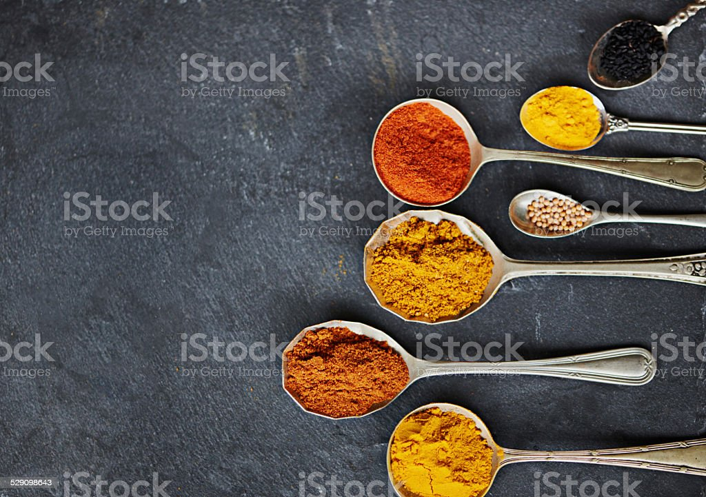 Let's spice up your life stock photo