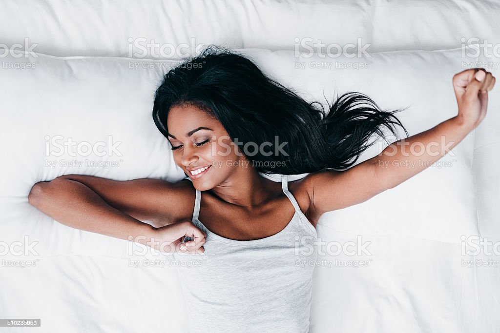 Lets start new day. stock photo