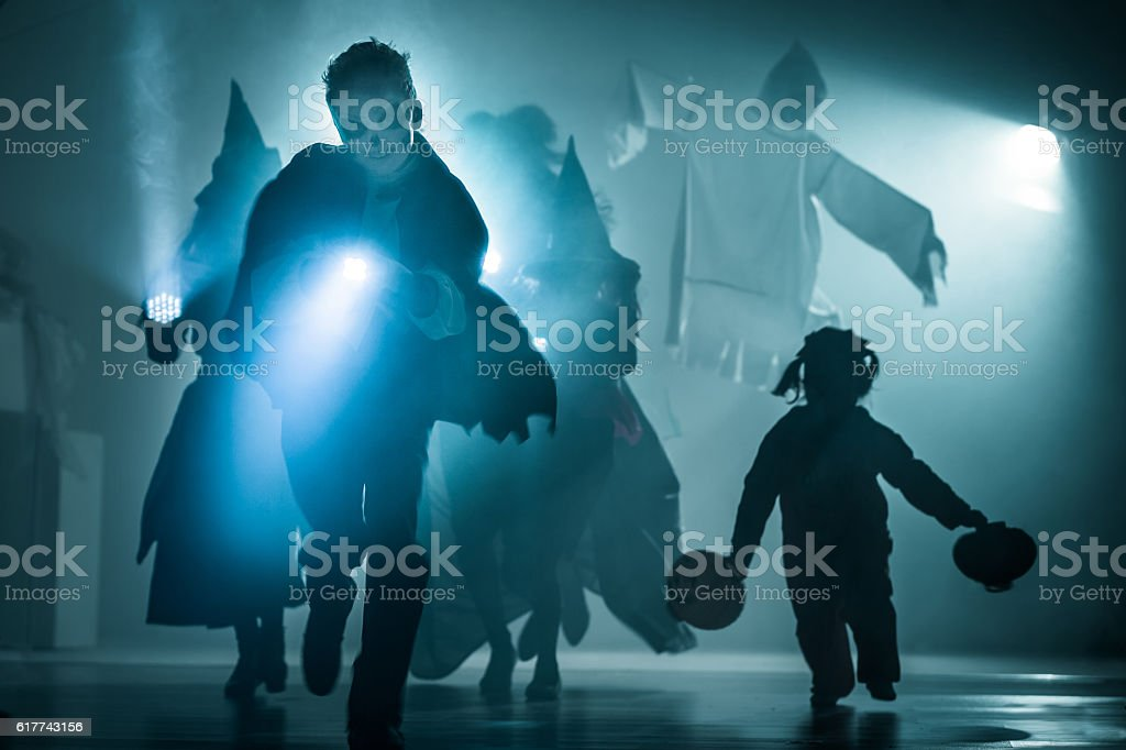 Let's Start Trick-or-treating stock photo