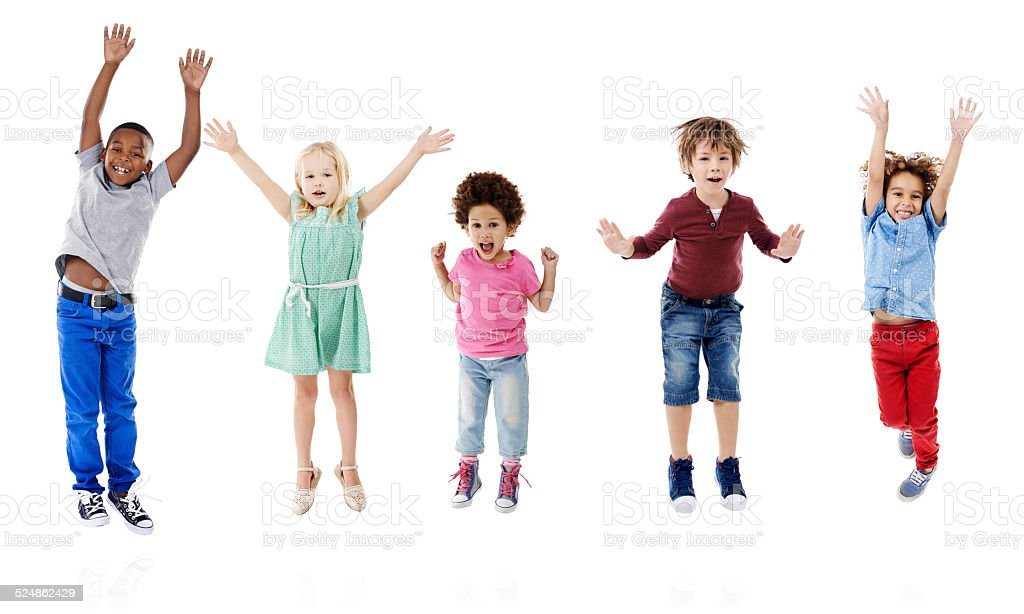 Let's take happiness to new heights stock photo