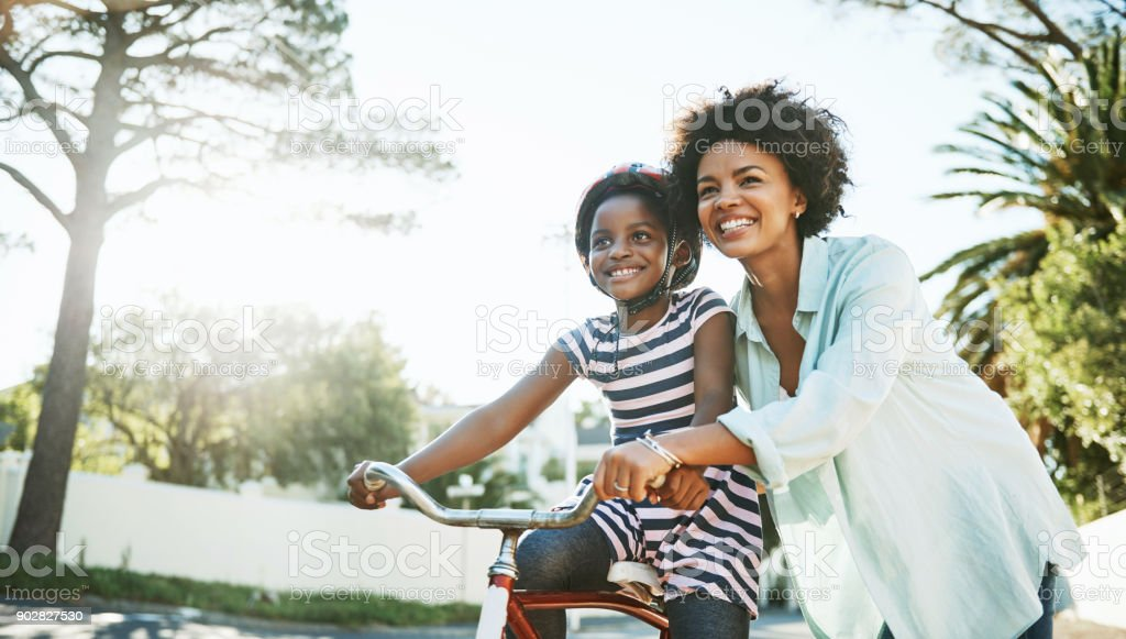 Let's take this bike for a ride stock photo