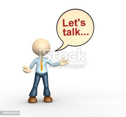istock Let's talk 465696053