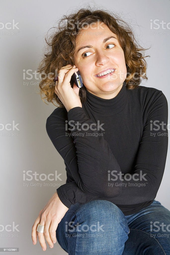 Let's talk! stock photo