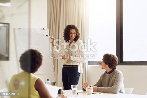 istock Let's talk strategy 500225310
