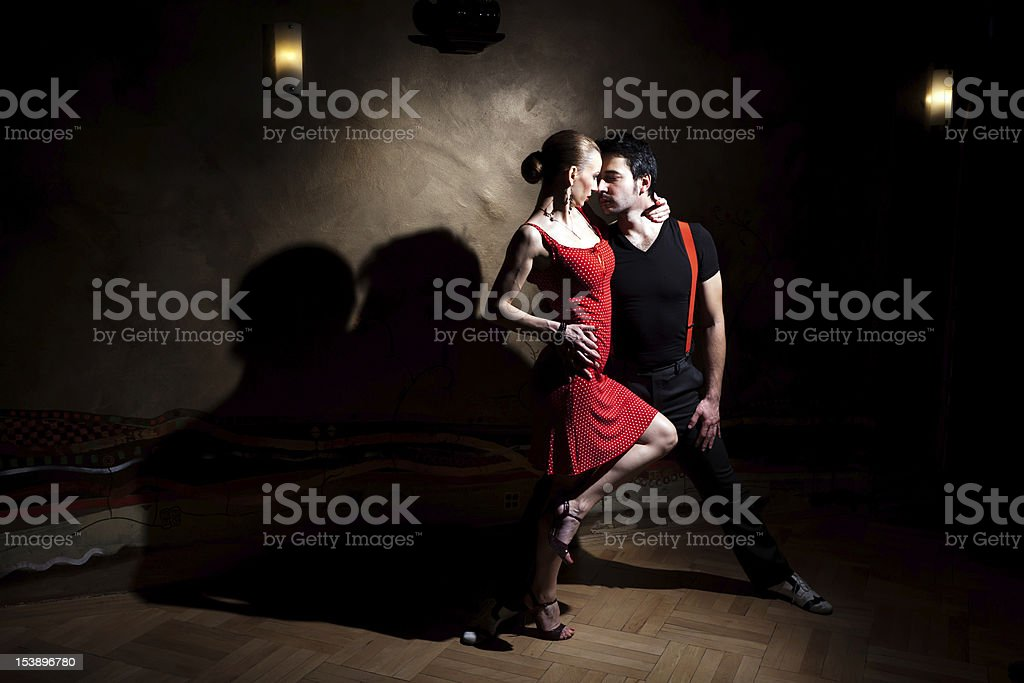 Let's Tango! stock photo
