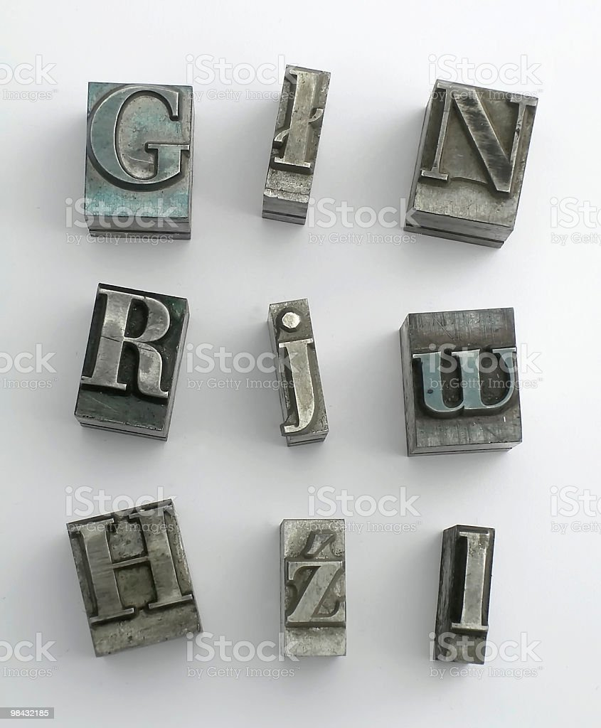 letter 2 royalty-free stock photo