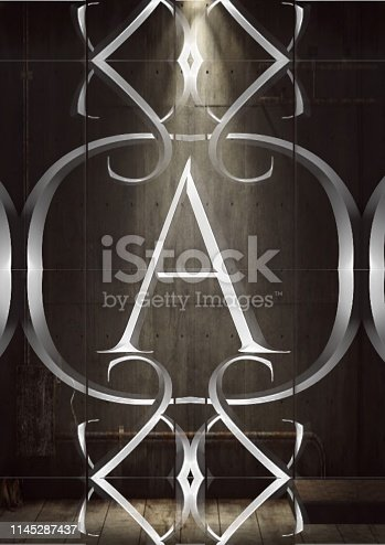 184953872 istock photo Letter A grunge 1145287437