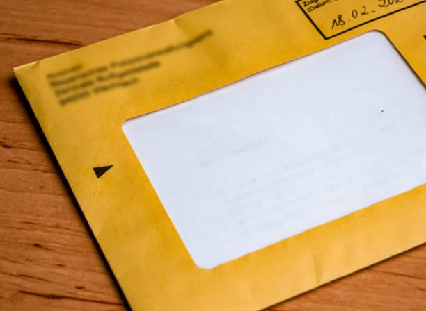 Letter administrative fine notice administrative fine notice in german