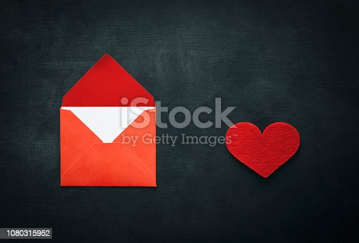 Candy, Heart Shape, Letter, Blackboard