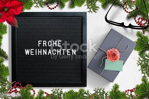istock Letter board with message