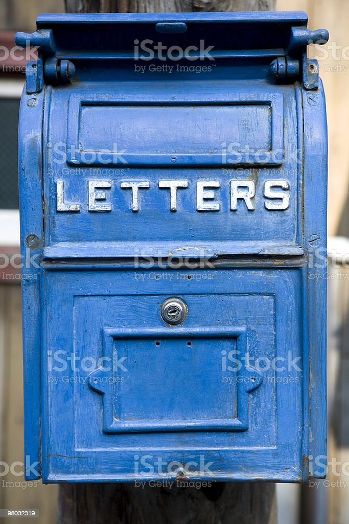 letter box royalty-free stock photo