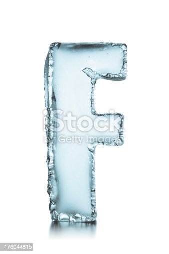 Gm Capital One >> Letter F Frozen Ice Block Alphabet Stock Photo & More ...