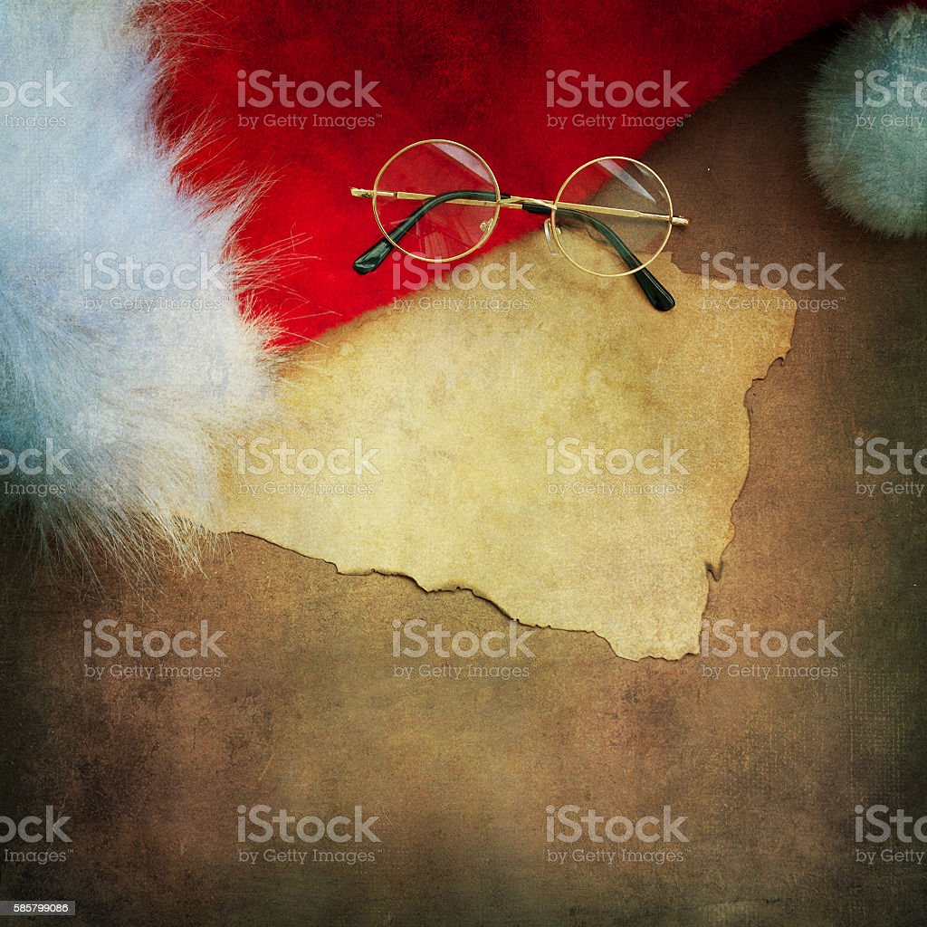 Letter for santa stock photo