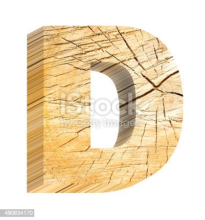 184385936 istock photo Letter from pine wood alphabet set isolated over white. 490634170