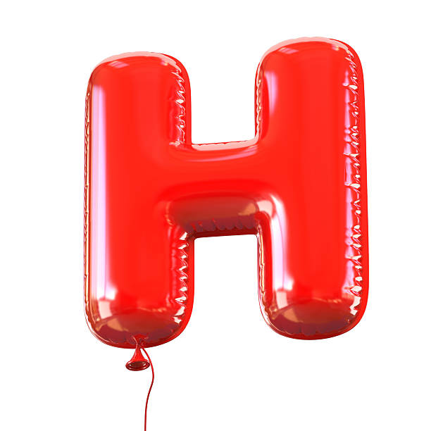 Royalty free letter h pictures images and stock photos istock letter h balloon font stock photo altavistaventures Image collections