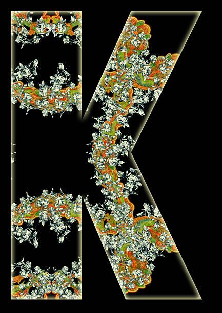 letter k. - k logo stok fotoğraflar ve resimler