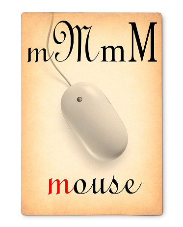 Mouse. Image made with a my mouse photo.