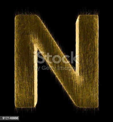 istock Letter N 912146666