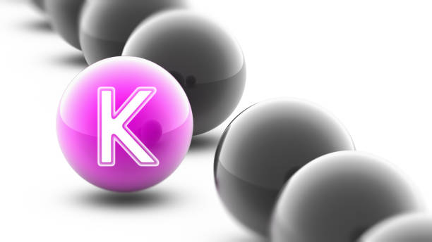 Letter on the ball. Letter on the ball. k icon stock pictures, royalty-free photos & images